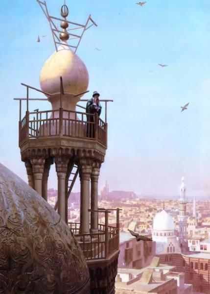 The Muezzins call to prayer